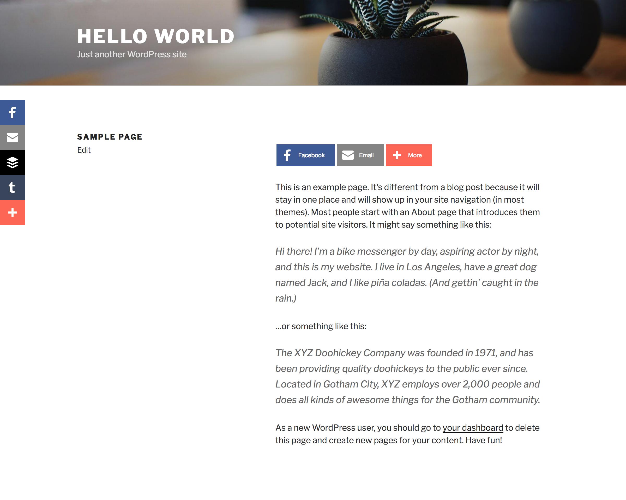 WordPress Share Buttons Plugin – AddThis – Plugin WordPress
