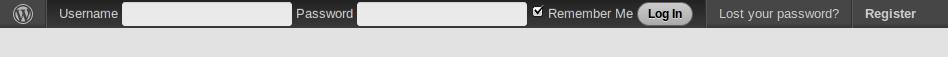 اضافة ووردبريس   لعمل بار دخول وتسجيل مخصصة لموقعك - دهاليز نت Screenshot-1