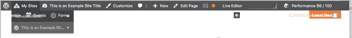 What WordPress currently does without this plugin (overlapping items hijack hover and makes things inaccessible, and the user experience is generally broken).