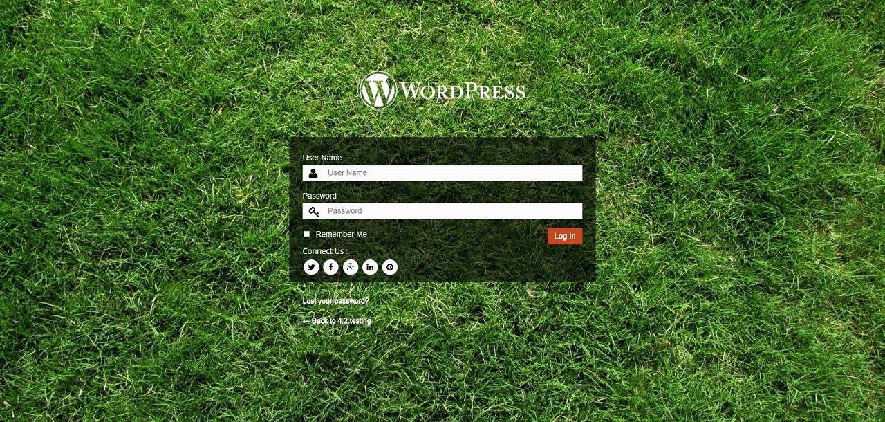 Todo - Wordpress Admin Theme & Login Page