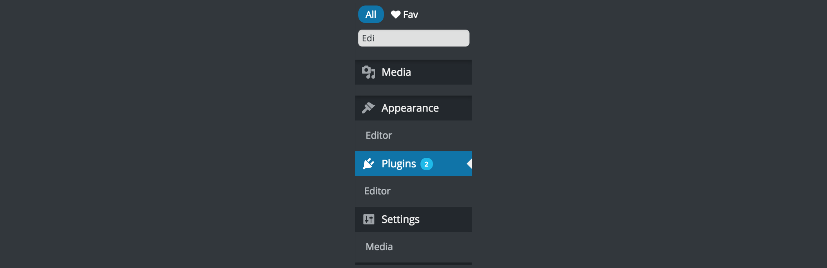 Admin Menus Accessibility – Quickly Search Admin Menus