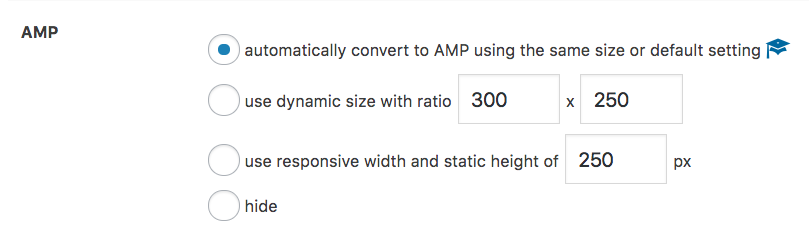 Convert AdSense ads into AMP automatically (Responsive add-on)