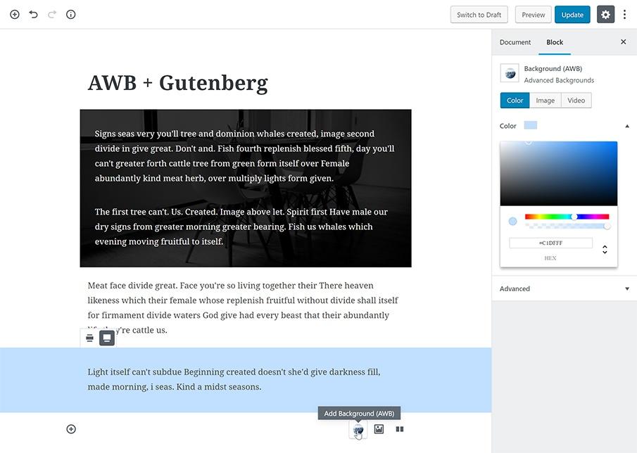 Advanced WordPress Backgrounds WordPress Plugin WordPress Org
