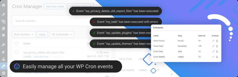 Advanced Cron Manager – debug & control