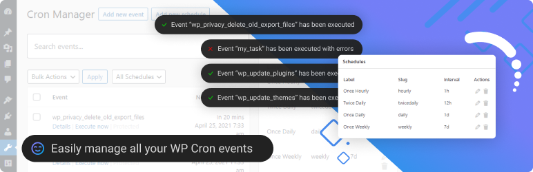 Advanced Cron Manager - debug & control