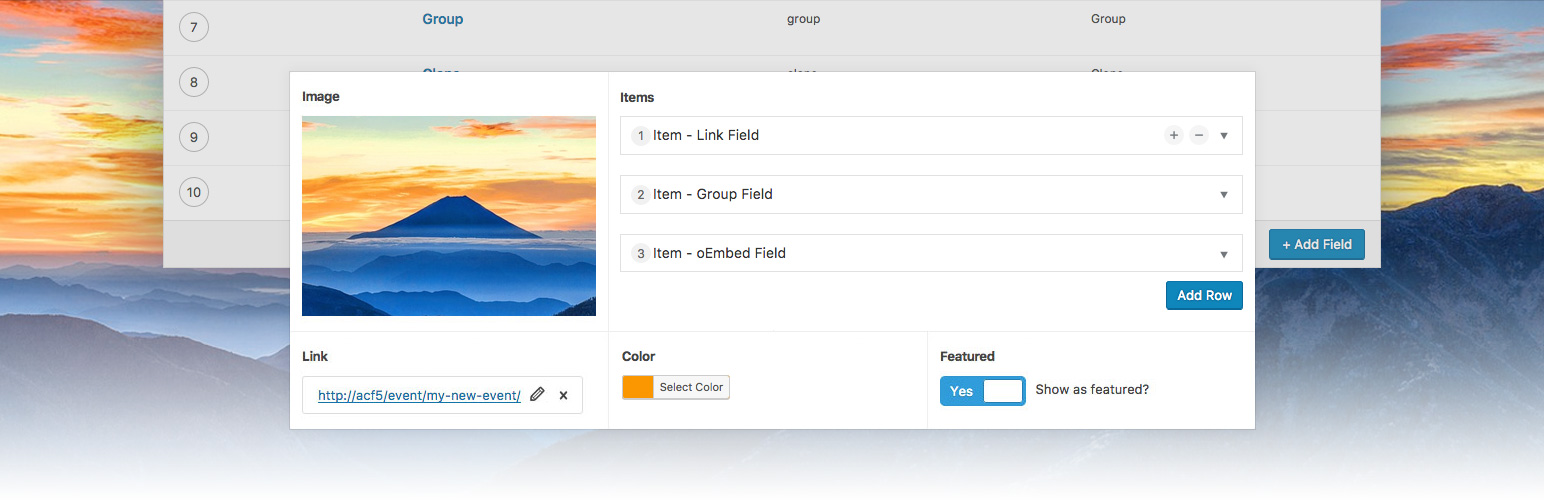 Advanced Custom Fields – WordPress plugin | WordPress org