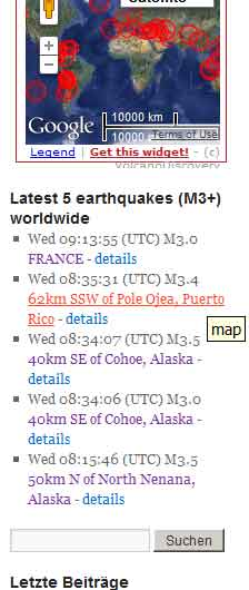 advanced-earthquake-monitor screenshot 1