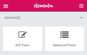 Advanced Elementor Widgets in Elementor Page Builder