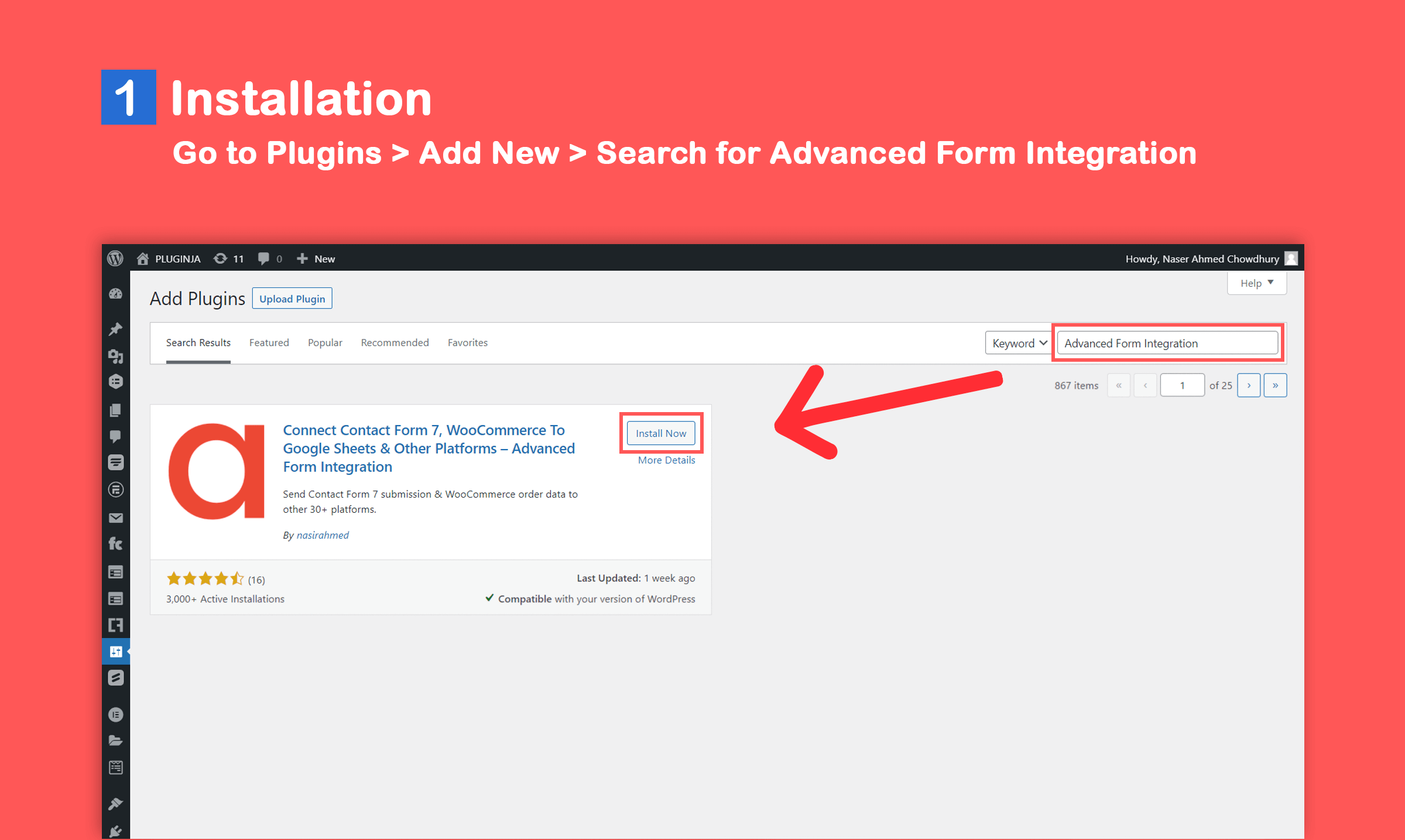 Connect Contact Form 7, WooCommerce To Google Sheets & Other Platforms  – Advanced Form Integration