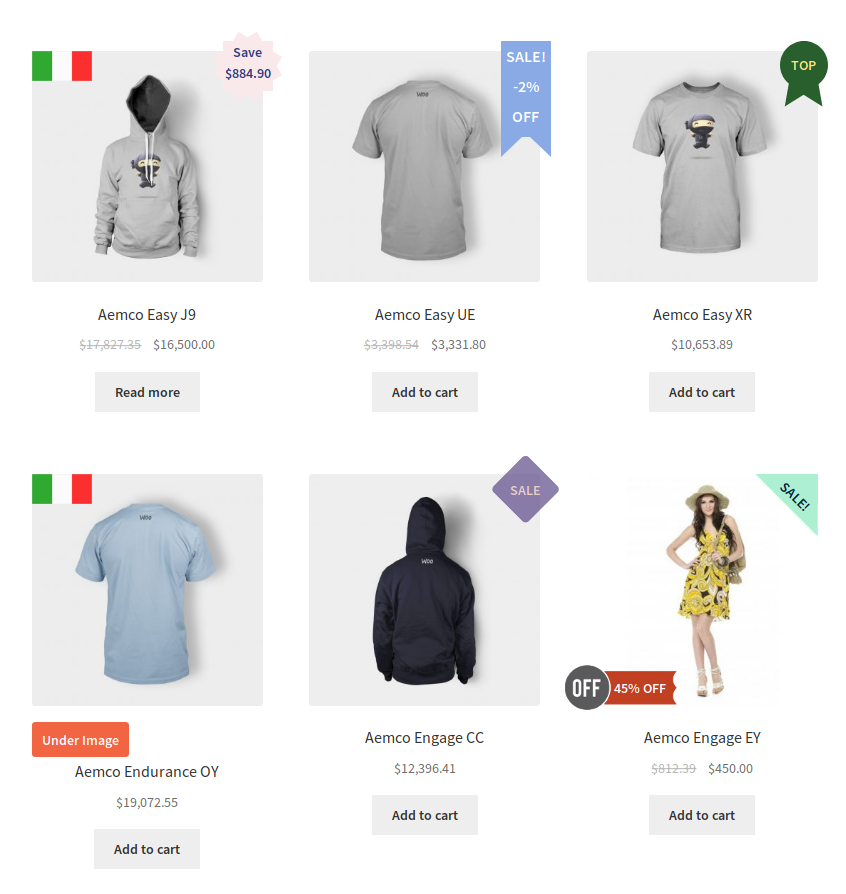 Advanced Product Labels for WooCommerce – Extension WordPress