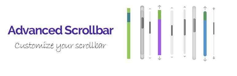 Advanced scrollbar -Custom scrollbar,