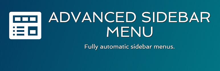 Advanced Sidebar Menu – WordPress plugin | WordPress org