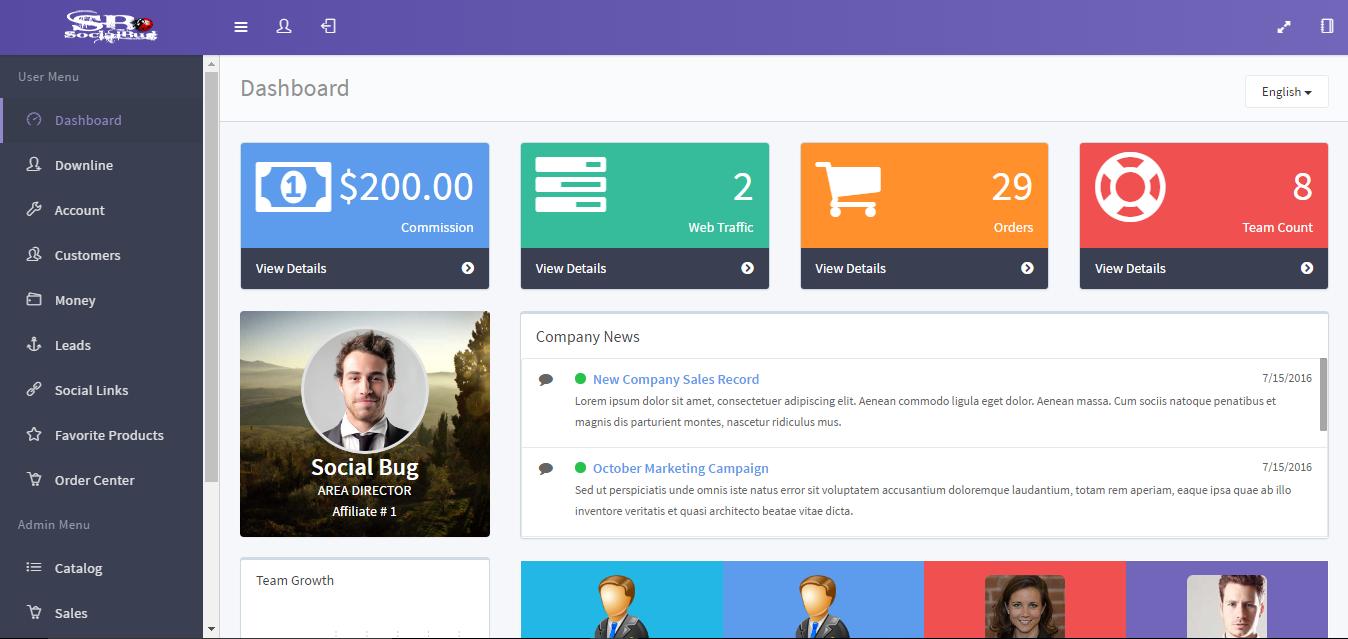 AFFILIATE MLM / PARTY PLAN — WordPress Plugins