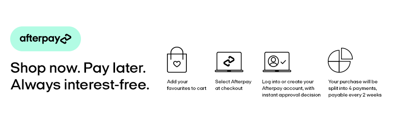 how to add afterpay to woocommerce