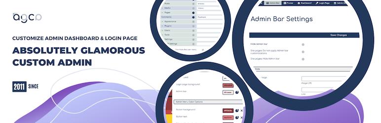 Custom Dashboard & Login Page – AGCA