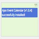 ajax-event-calendar logo