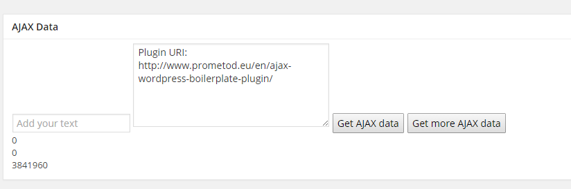 Example use: Receive Alexa rank for every correct URL address pasted in the form field