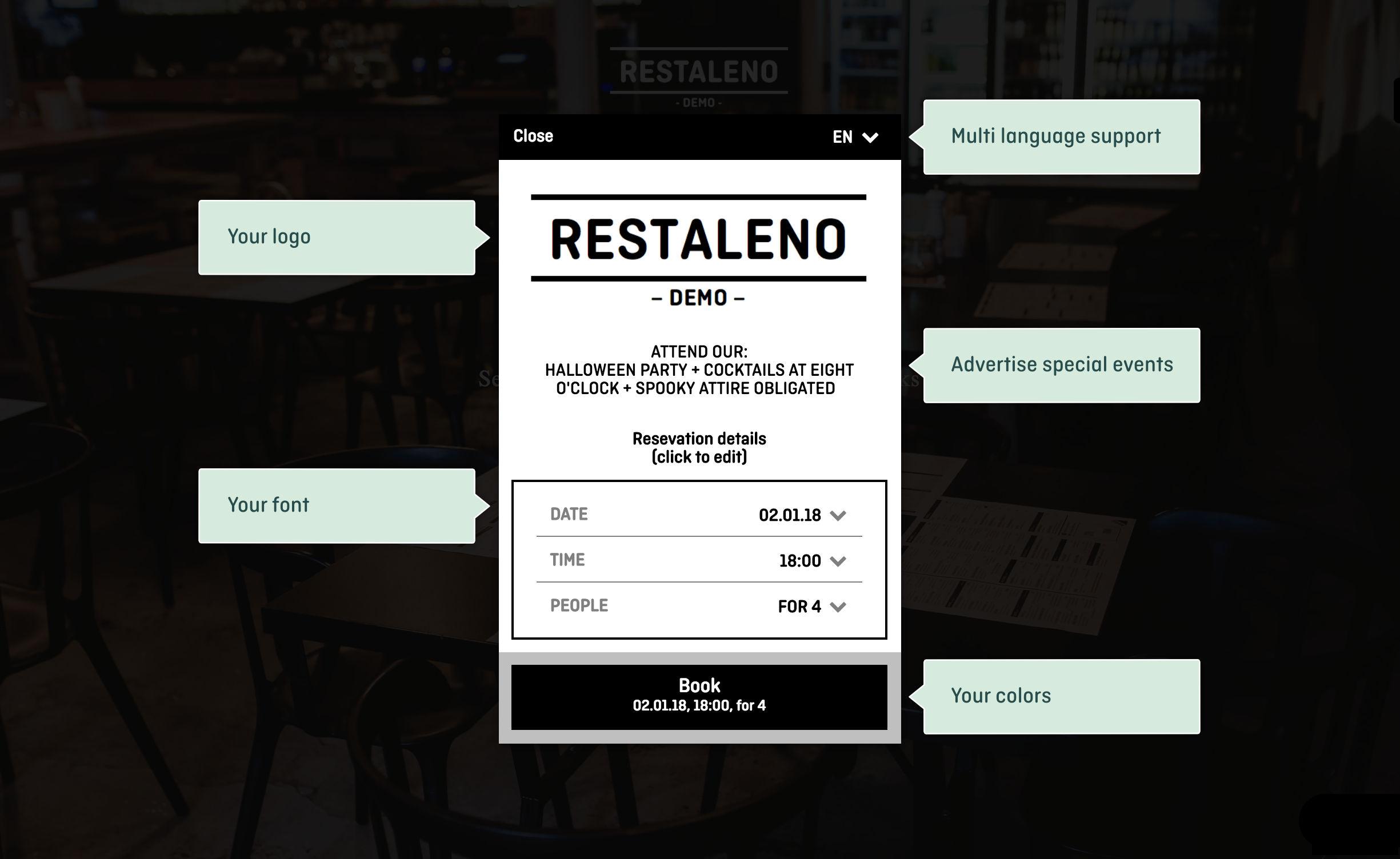 aleno Restaurant Reservations