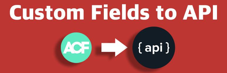 Custom fields to api