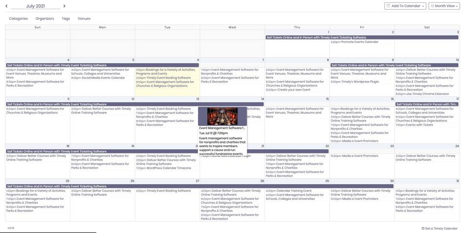 all-in-one-event-calendar screenshot 2