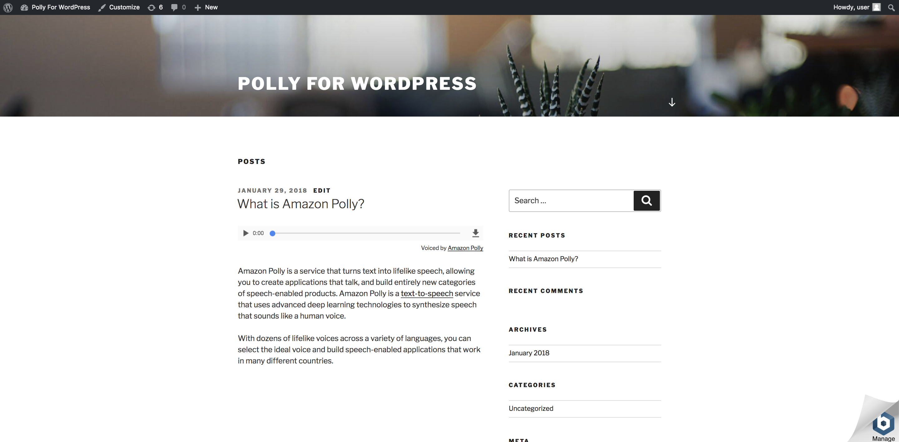 AWS for WordPress – WordPress plugin | WordPress.org