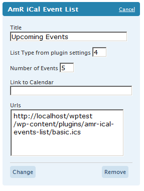 amr-ical-events-list screenshot 7
