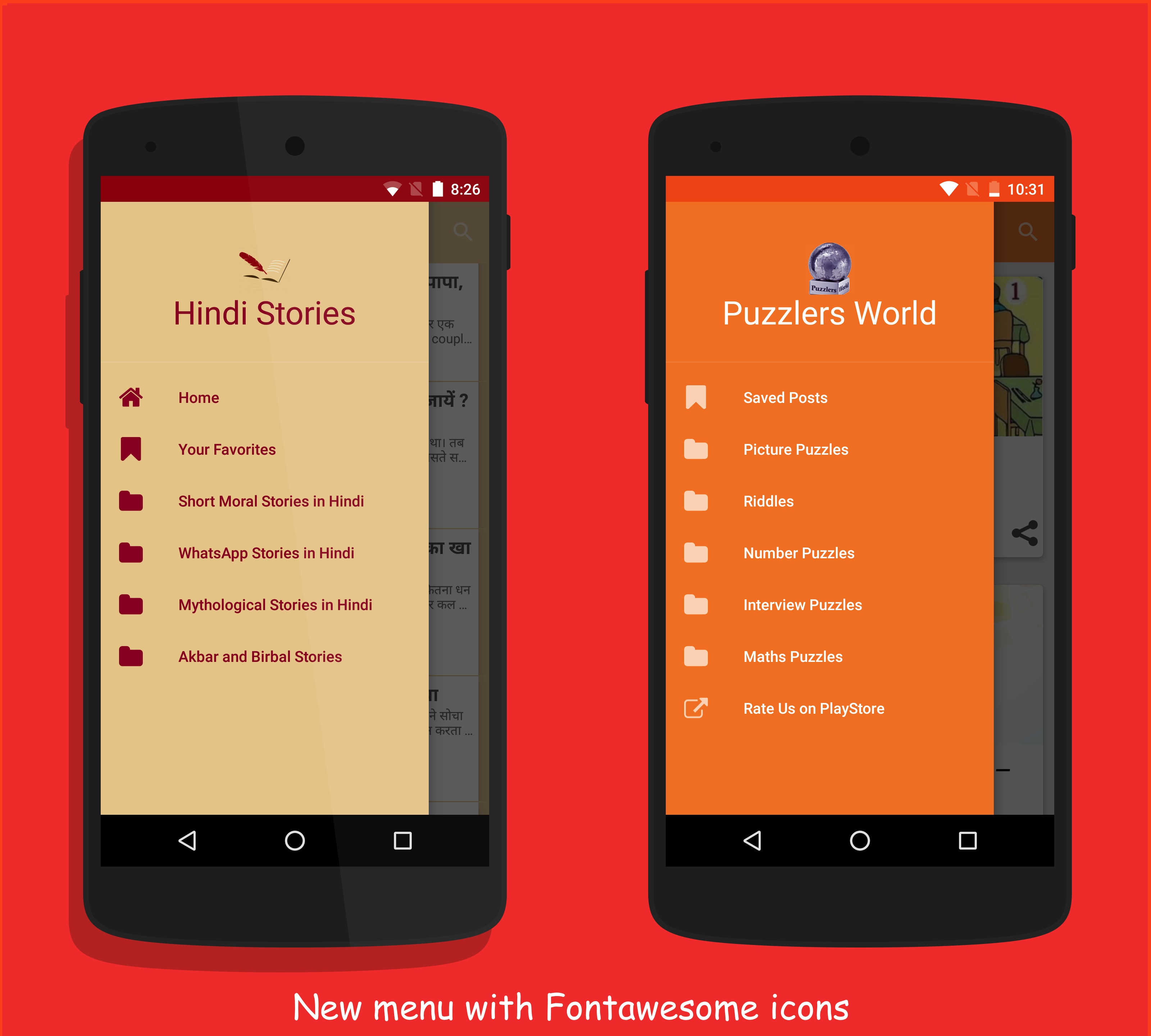 Androapp – Native Android mobile app for wordpress site