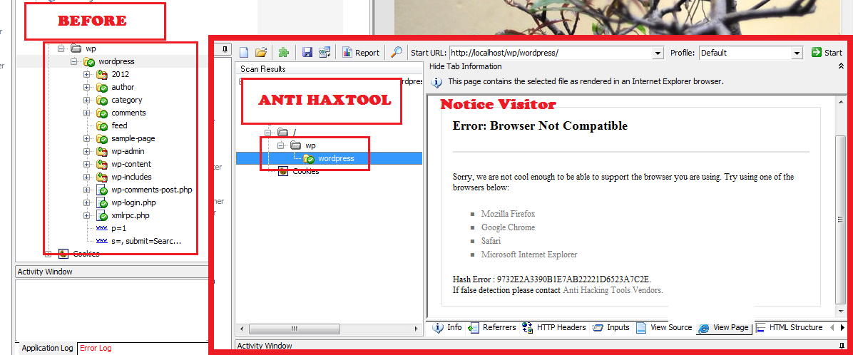 anti-hacking-tools screenshot 2