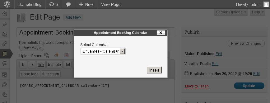Appointment Booking Calendar – WordPress plugin | WordPress org