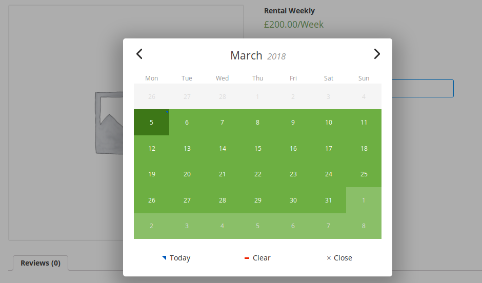 Appointment, Reservation and Rental Booking for Woocommerce