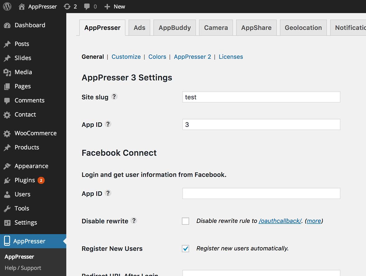 AppPresser – Mobile App Framework – WordPress plugin