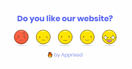 Emoji Feedback Notification.