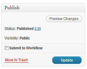 Added a checkbox to the edit page for submitting to the workflow.