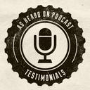 As Heard On logo