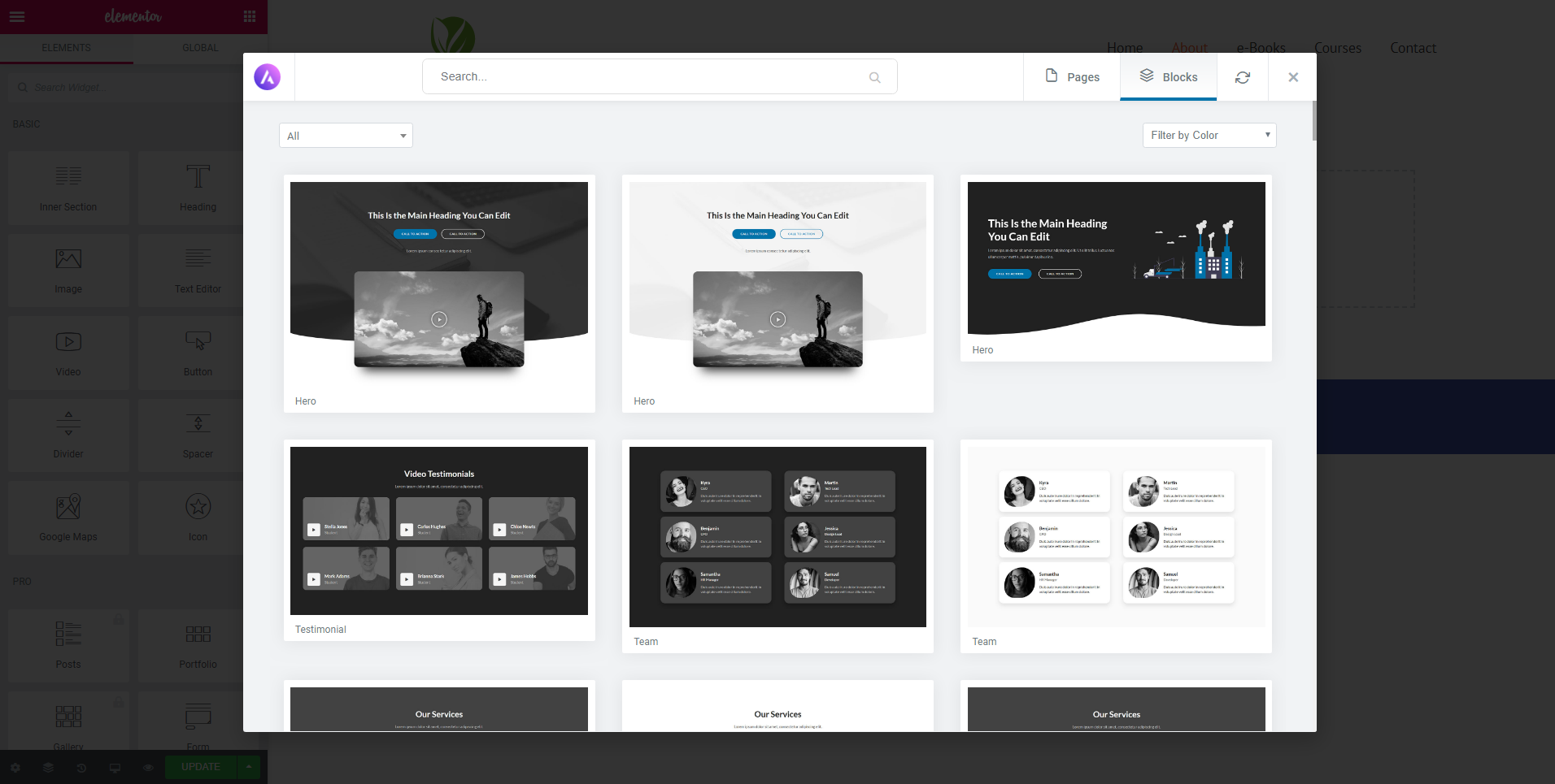 Free Images by Pixabay right inside the WordPress media popup.