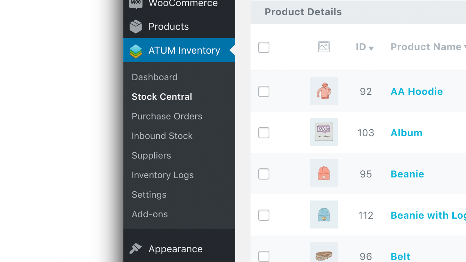 ATUM Inventory Management for WooCommerce – WordPress plugin