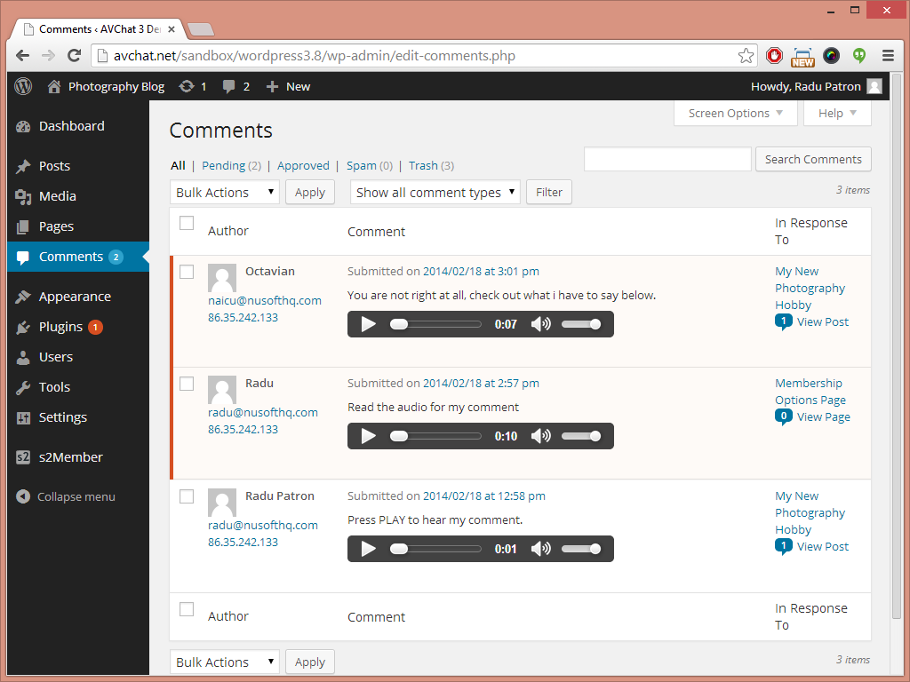 audio-comments screenshot 4