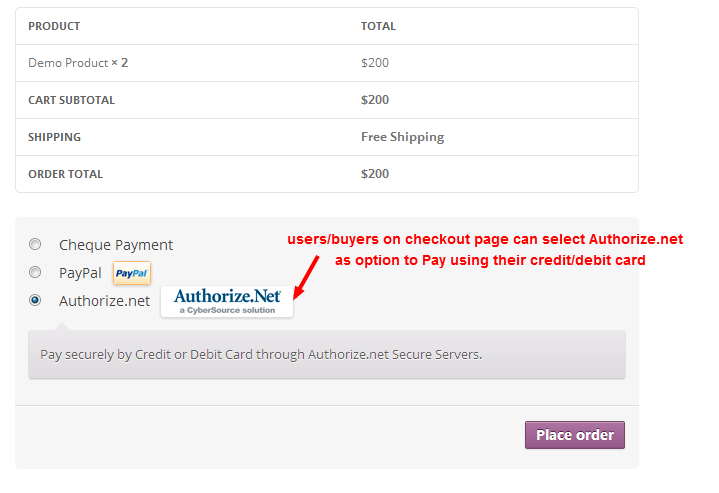 authorizenet-payment-gateway-for-woocommerce screenshot 8