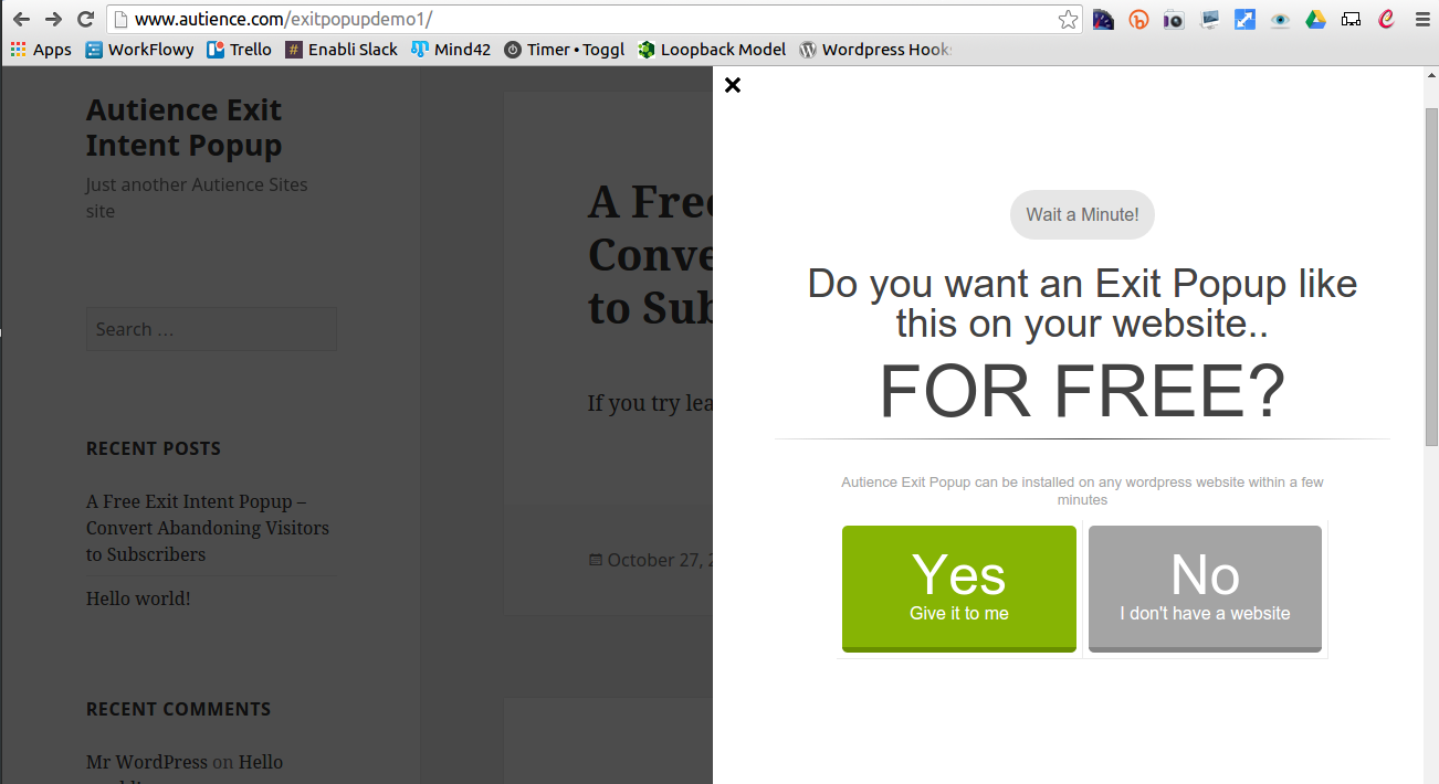 <p>This is how your popup looks in the side-slider layout.</p>
