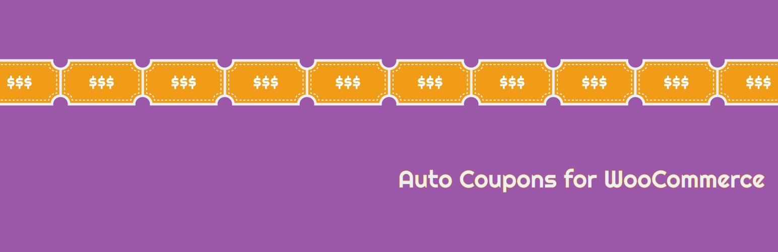 Auto Coupons for WooCommerce