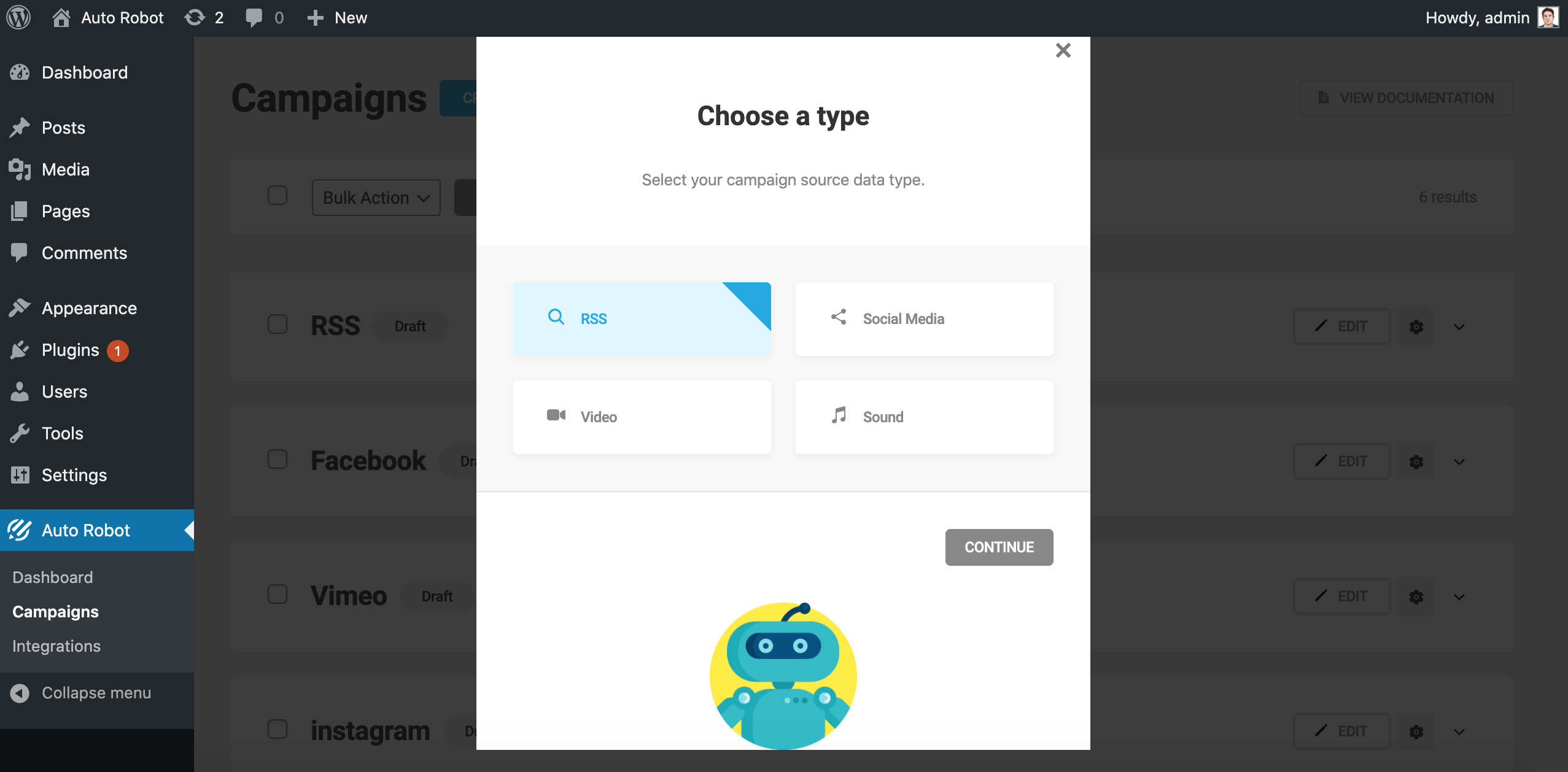 Auto Robot – WP Autoblogging and RSS Feed News Aggregator