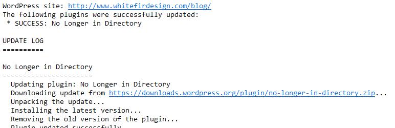 Automatic Plugin Updates
