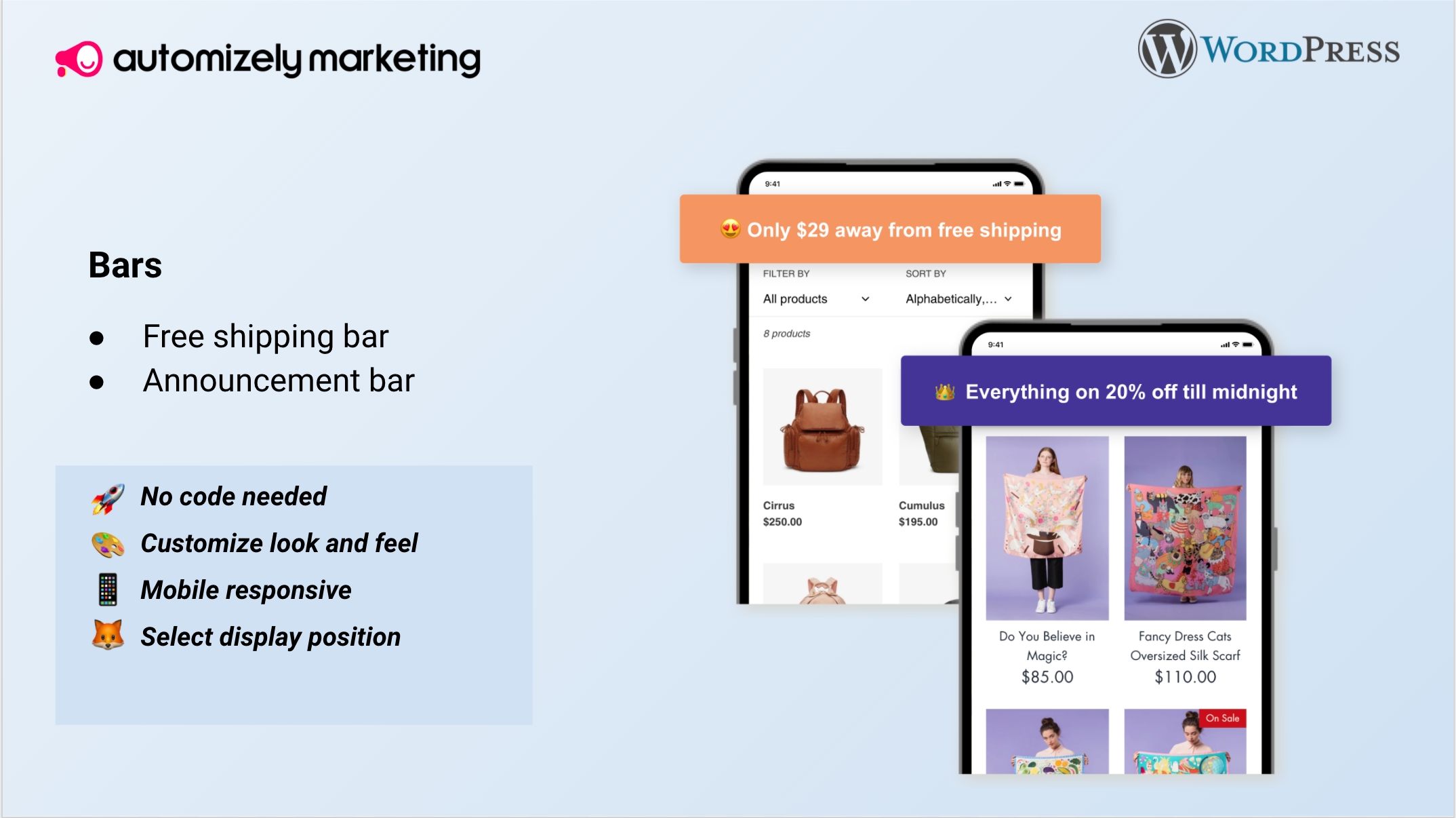 Automizely Popup – Email Pop Up, Sales Pop Up, Exit Intent Pop Up, Upsell Pop Up, Cart Abandonment Pop Up