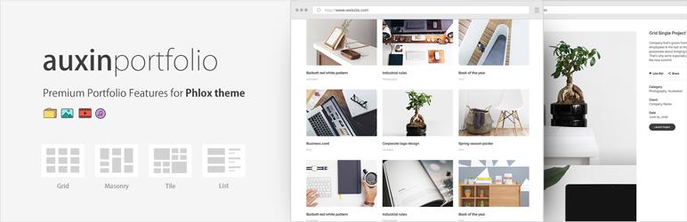 Premium Portfolio Features for Phlox theme