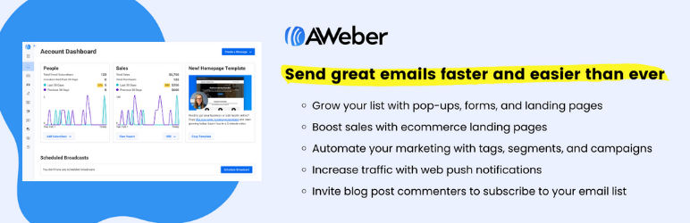 AWeber Web Form Plugin