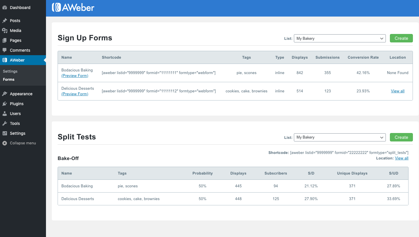 Add new users and commenters to your AWeber account
