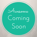 Awesome Coming Soon logo