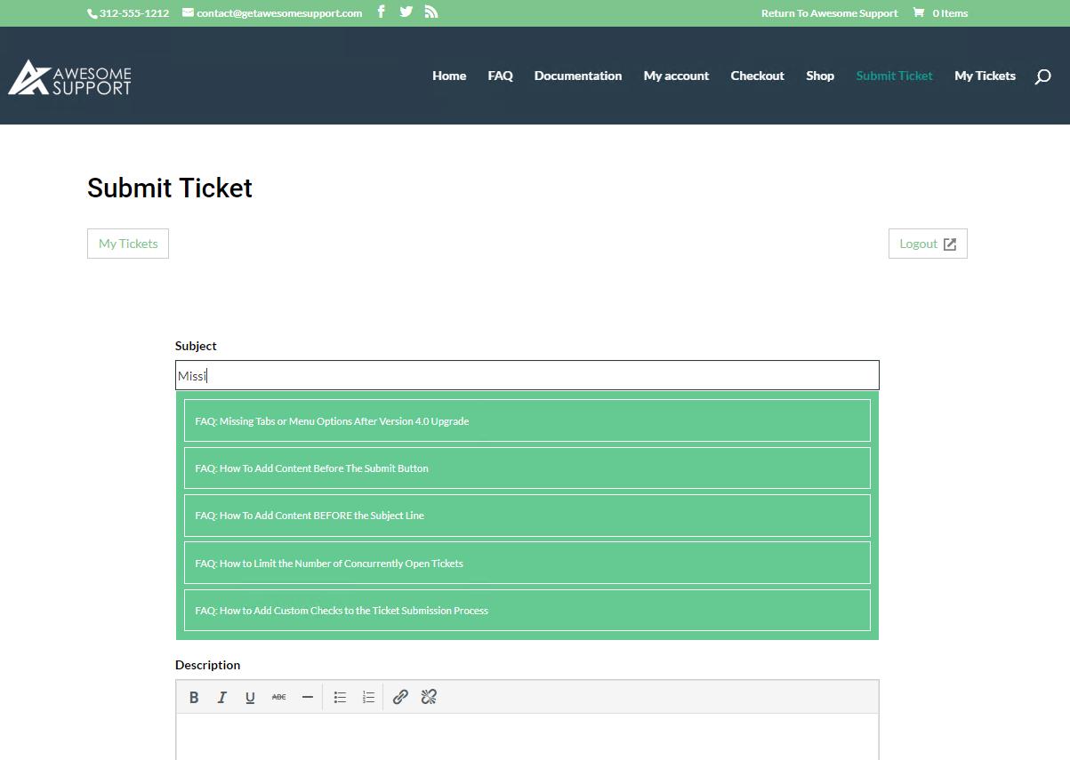 Awesome Support – WordPress HelpDesk & Support Plugin – WordPress