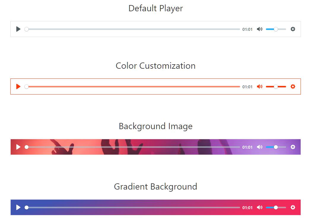 AZ Video and Audio Player Addon for Elementor – WordPress plugin   WordPress.org