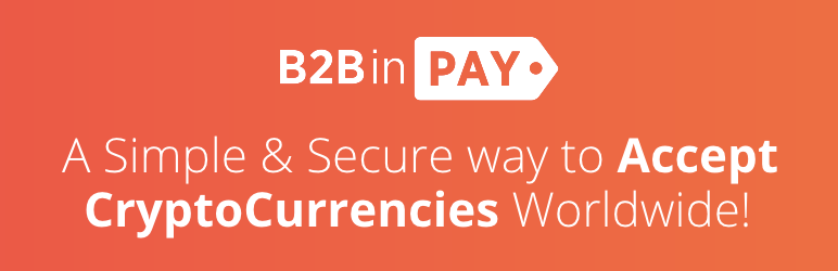 B2BinPay Payments for WooCommerce